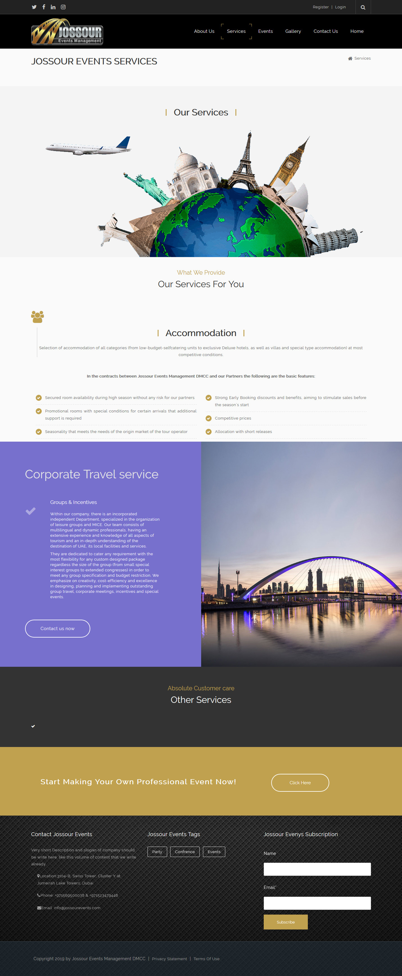 jossourevents-services