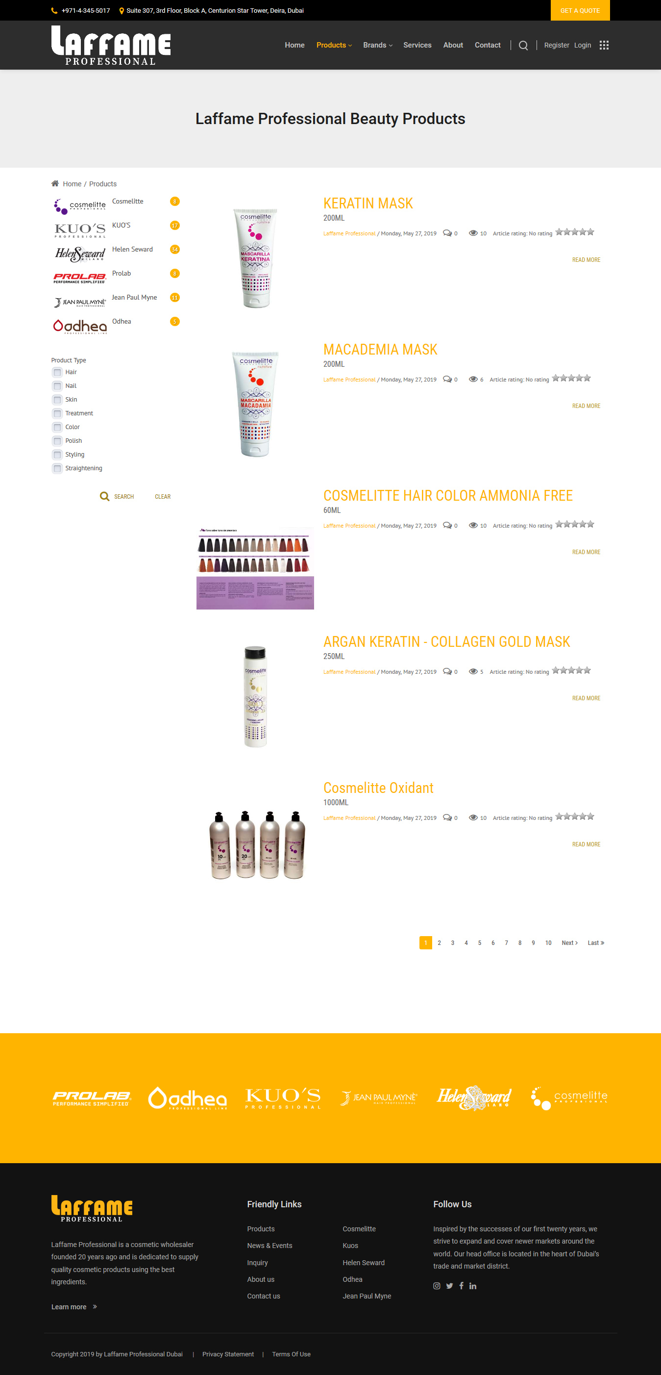 laffameprofessional-product-list