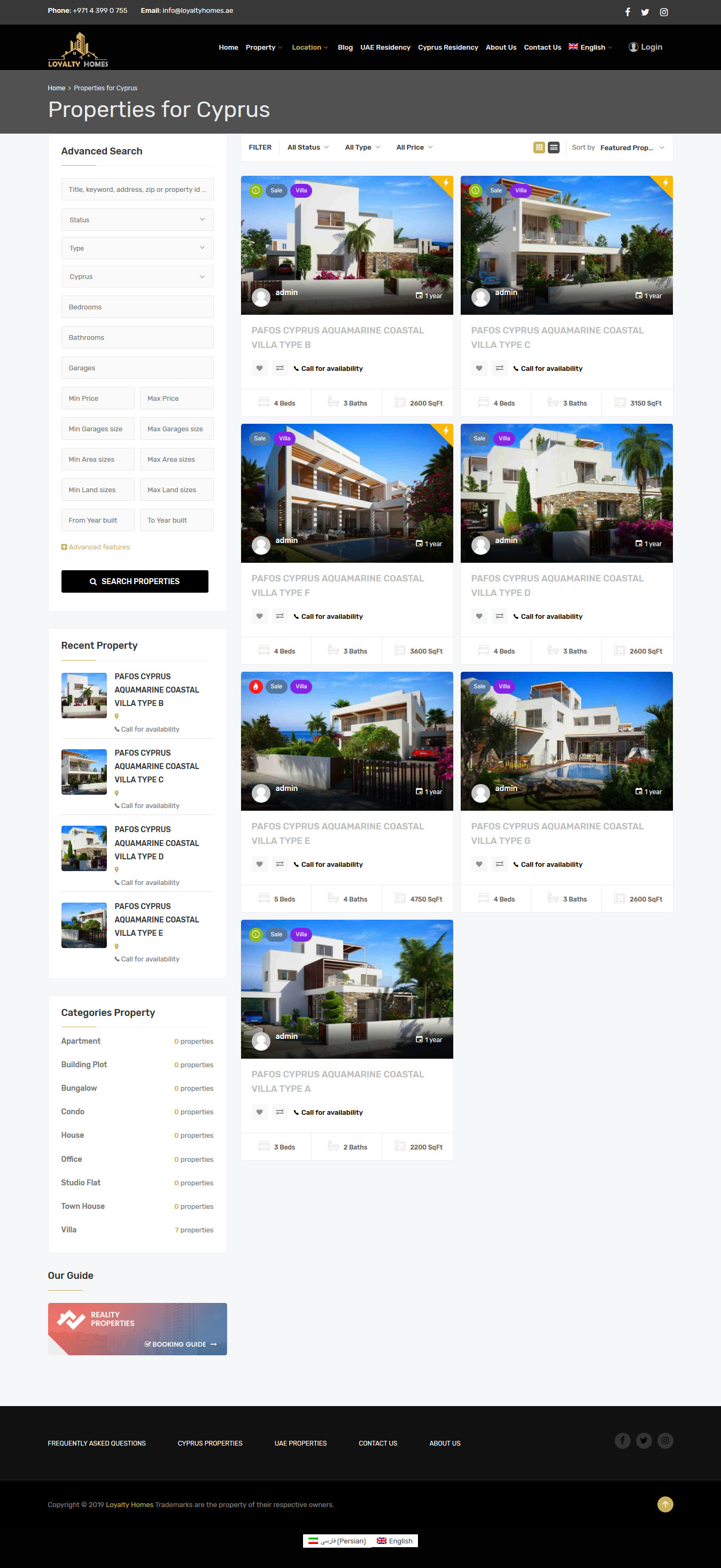 loyaltyhomes-Propert-list-by-City