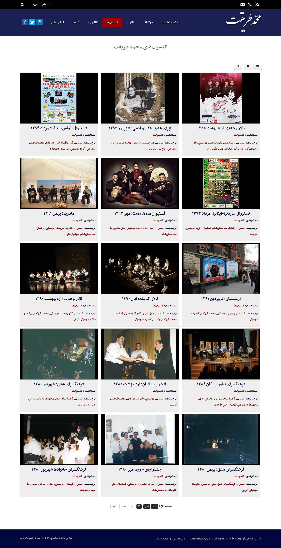 mohammadtarighat-Concert